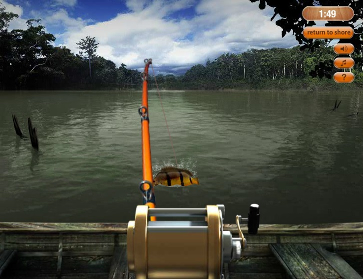 Hooked Monster Fishing Game