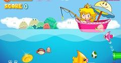 Super Princess Peach Fishing