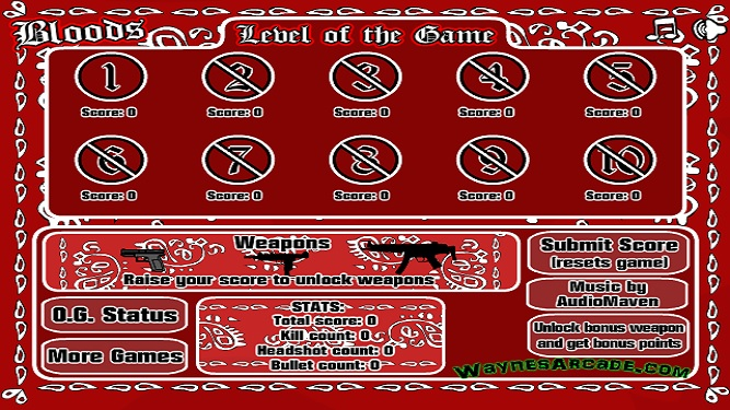 Bloods Vs Crips Game Free Online Shooting Games Shoot It All