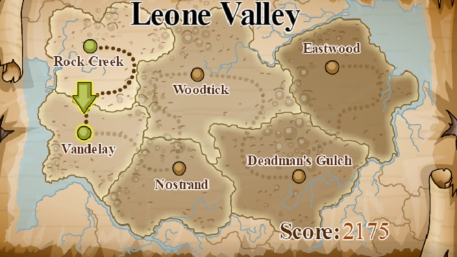 Gunshot cowboy leone valley map