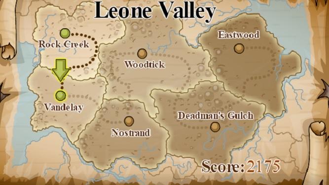 Gunshot cowboy leone valley map