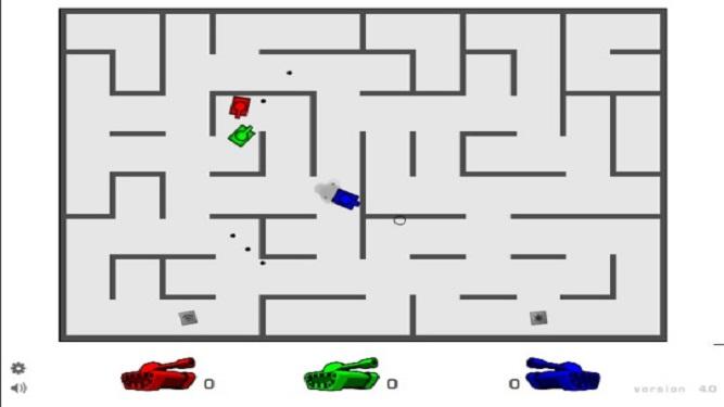 Tank trouble AZ V4 maze shooting