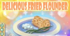 Delicious Fried Flounder