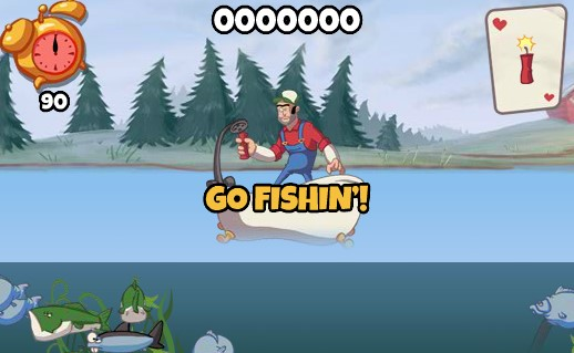 Super dynamite fishing free online game fish games for Free online fishing games